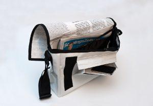 Lesestoff-Tasche