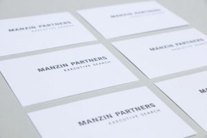 Manzin Partners Businesscard