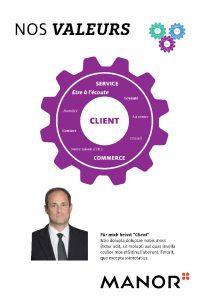 Plakat Client